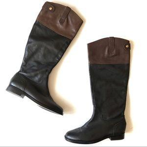 Lauren By Ralph Lauren Jenessa Black Riding Boots